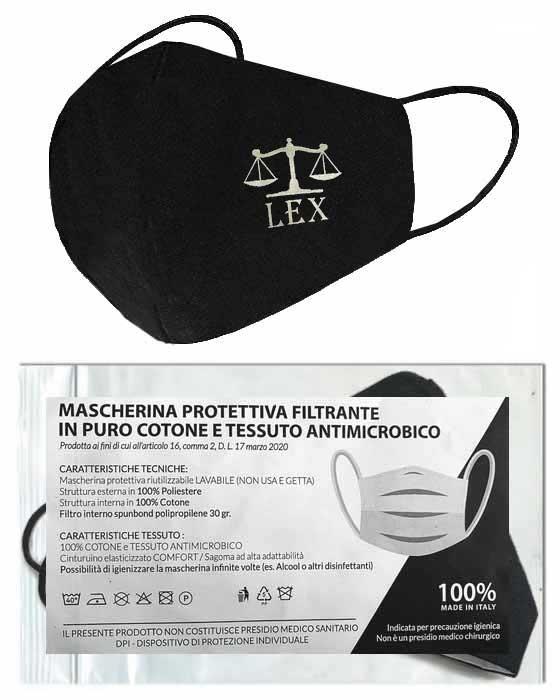 Mascherina Protettiva Lavabile LEX